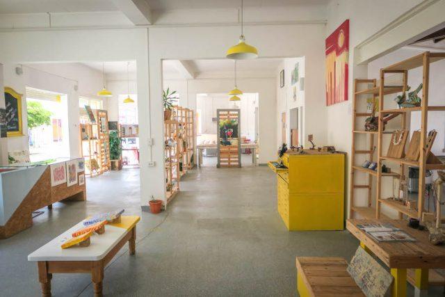 Aruba Urlaub ABC Inseln San Nicolas Kunstladen