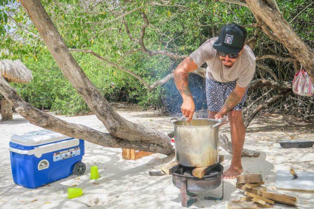 Aruba Urlaub ABC Inseln Frank Foraging Tour