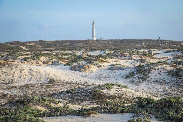 Aruba Urlaub ABC Inseln Sonnenuntergang Dünen