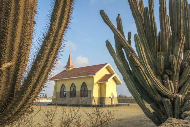Aruba Urlaub ABC Inseln Alto Vista Chapel