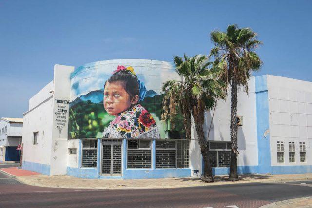 Aruba Urlaub ABC Inseln San Nicolas Streetart
