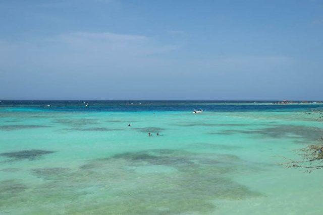 Aruba Urlaub ABC Inseln Mangel Alto Strand