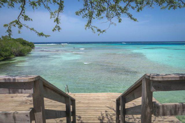 Aruba Urlaub ABC Inseln Mangel Alto Meer