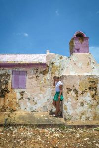 Aruba Urlaub ABC Inseln verfallenes Haus