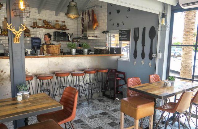 Aruba Urlaub ABC Inseln Santos Cafe