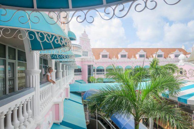 Aruba Urlaub ABC Inseln Oranjestad Shoppingmall