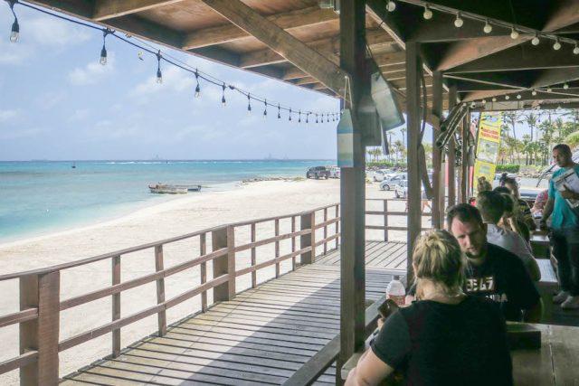 Aruba Urlaub ABC Inseln West Deck