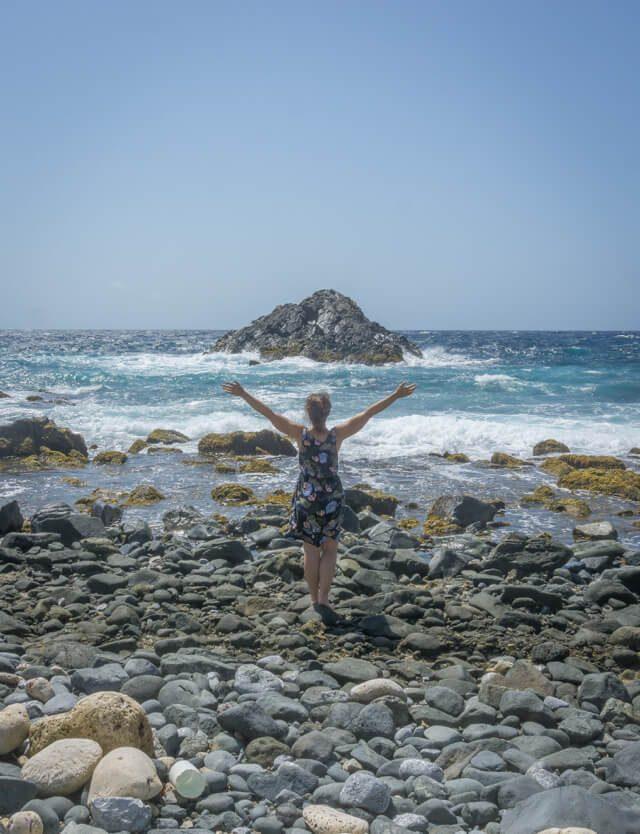 Aruba Urlaub auf den ABC Inseln Natural Pool Meer