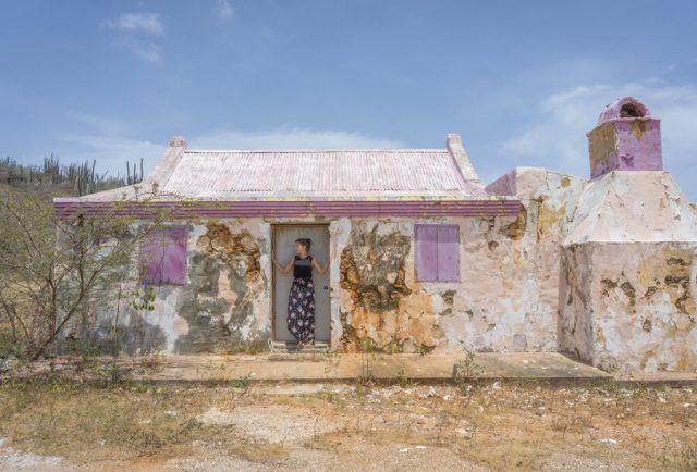 Aruba Urlaub auf den ABC Inseln altes Haus