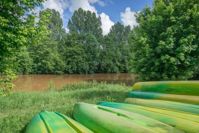 Camping Frankreich Campingplaetze Dordogne Perigord Le Paradis Kayak