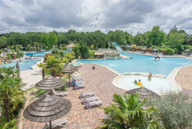Camping Frankreich Campingplaetze Sequoia Parc Pool