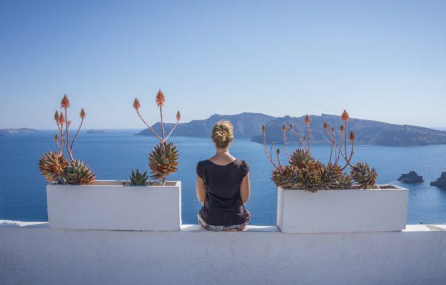 Geheimtipps Santorini Urlaub Kykladeninsel Aussicht