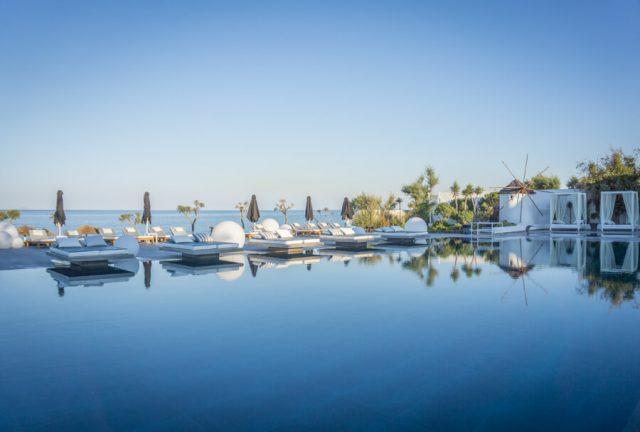 Geheimtipps Santorini Urlaub Kykladeninsel Hotel Kamari-2