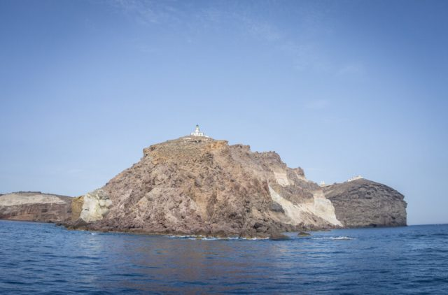 Geheimtipps Santorini Urlaub Kykladeninsel Leuchtturm Akrotiri