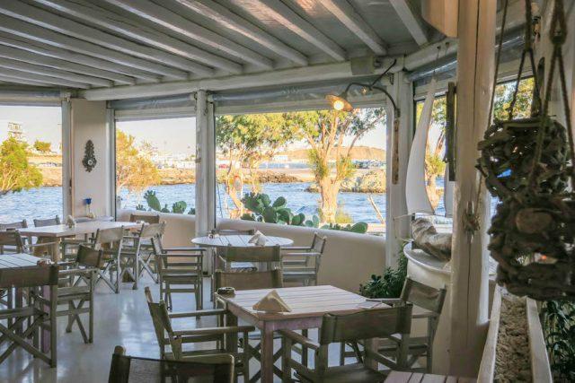 Kykladeninseln Tinos Bourou Restaurant