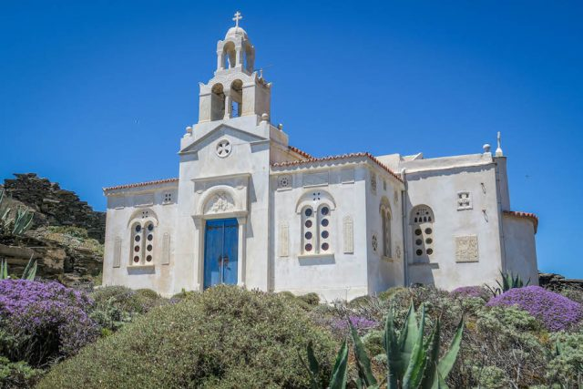 Kykladeninseln Tinos Miloi Kirche