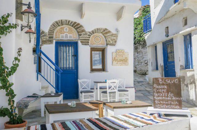 Kykladeninseln Tinos Isternia Restaurant
