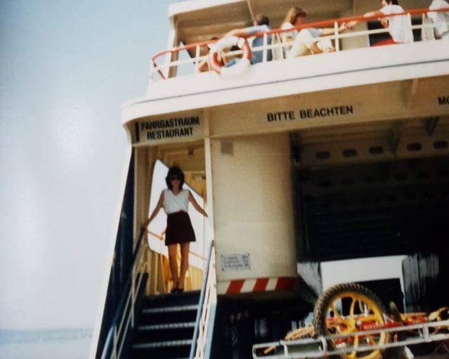 Reisen frueher und heute Faehre Konstanz
