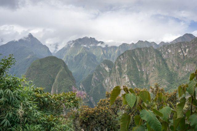 Inka Trail Machu Picchu Peru Anden