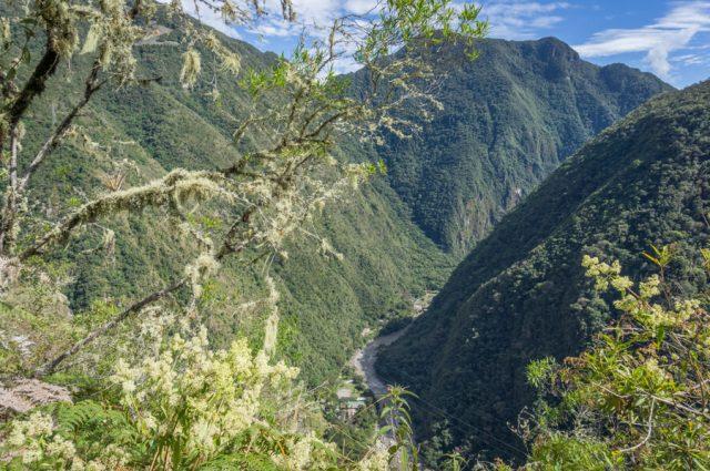 Inka Trail Machu Picchu Peru Aussicht