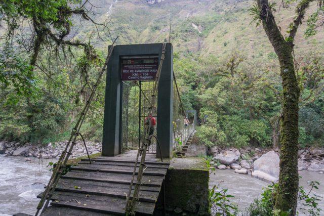 Inka Trail Machu Picchu Peru Kilometer 104