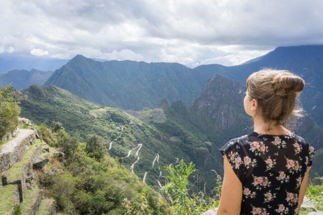 Inka Trail Machu Picchu Peru Sun Gate Sonnentor