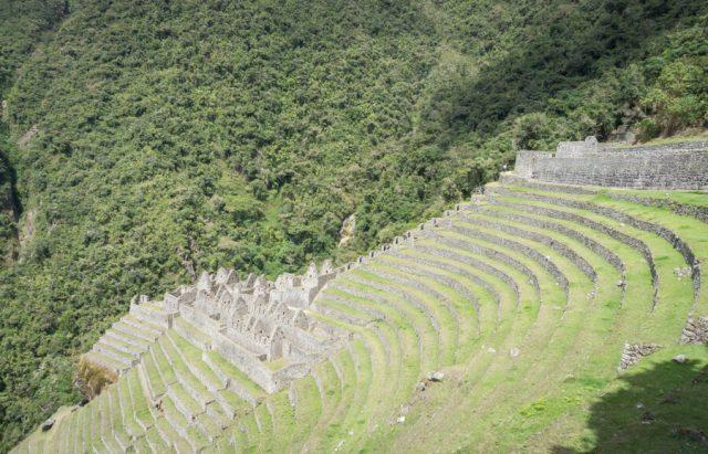 Inka Trail Machu Picchu Peru Winay Wayna Terrassen