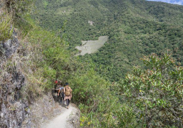 Inka Trail Machu Picchu Peru kurzer Trek