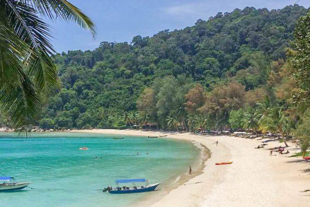 Malaysia Ostküste Tioman Perhentian Islands Strand