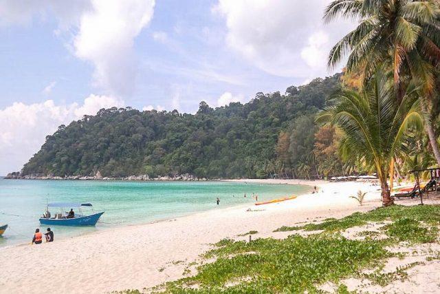 Malaysia Ostküste Tioman Perhentian Island Resort Privatstrand
