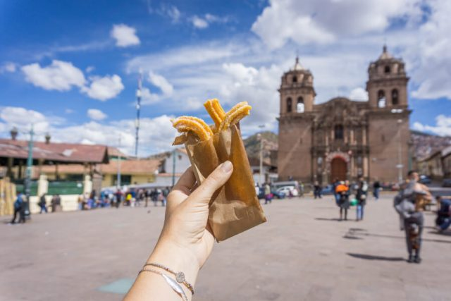 Peru Reisen Cusco Churros-2