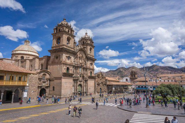 Peru Reisen Cusco Hauptplatz Jesuitenkirche