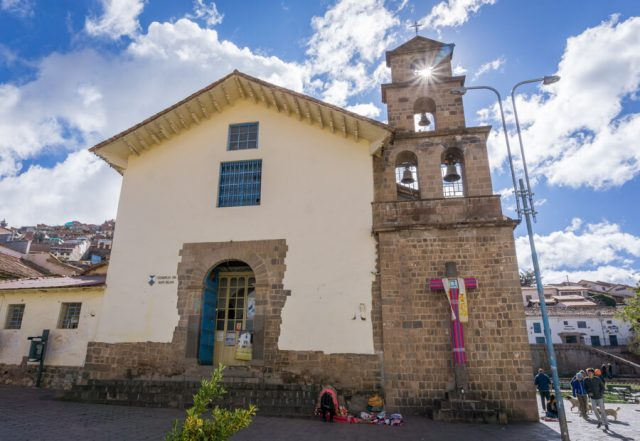 Peru Reisen Cusco San Blas