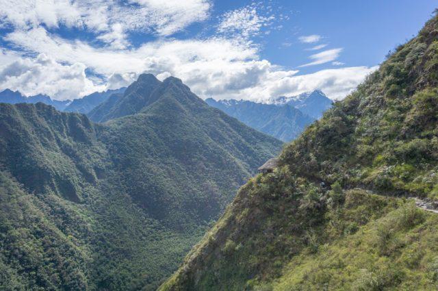 Peru Reisen Inka Trail Huette