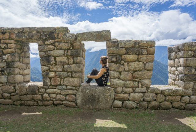 Peru Reisen Inka Trail Winay Wayna