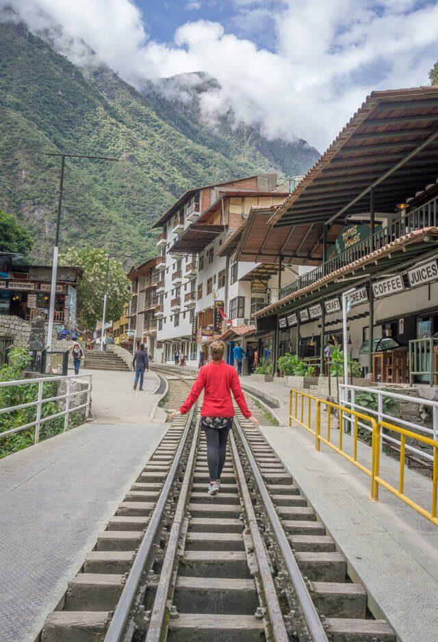 Peru Reisen Machu Picchu Aguas Calientes Pueblo