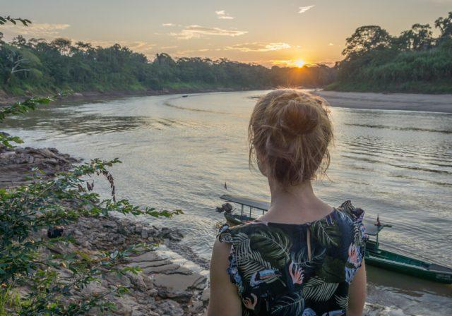 Peru Reisen Puerto Maldonado Amazonas Aussicht
