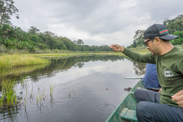 Peru Reisen Puerto Maldonado Amazonas See Kanu-2