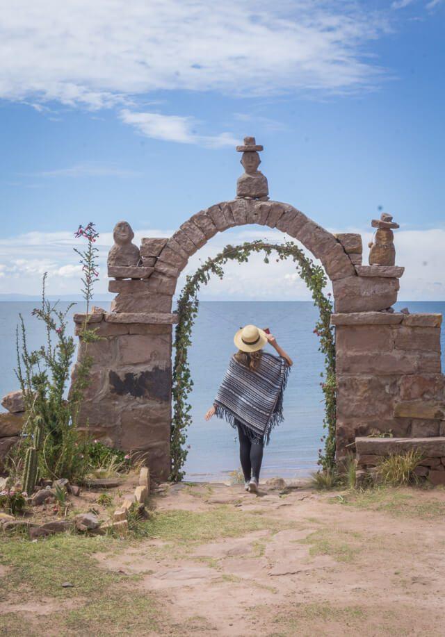 Peru Reisen Titicacasee Taquile Island
