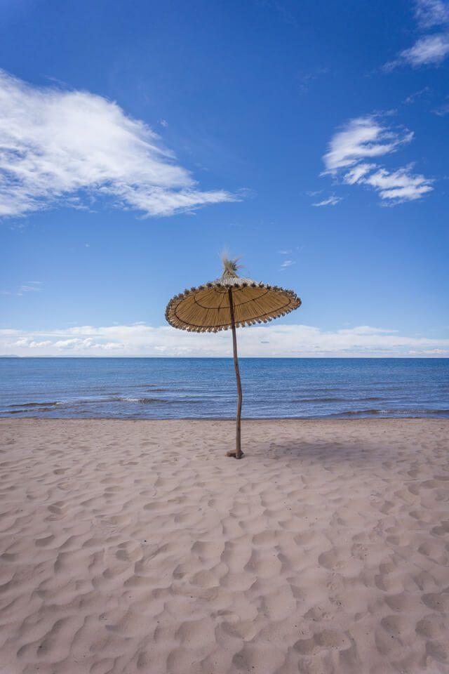 Peru Reisen Titicacasee Taquile Strand