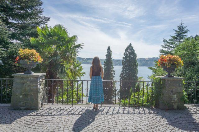 Bodensee Urlaub Insel Mainau Aussicht