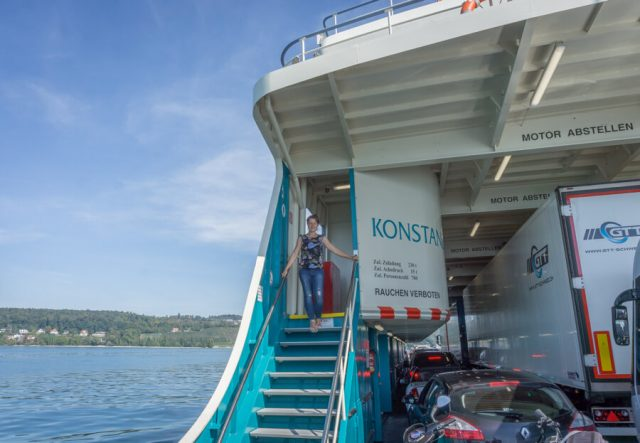 Bodensee Urlaub Konstanz Autofaehre Meersburg