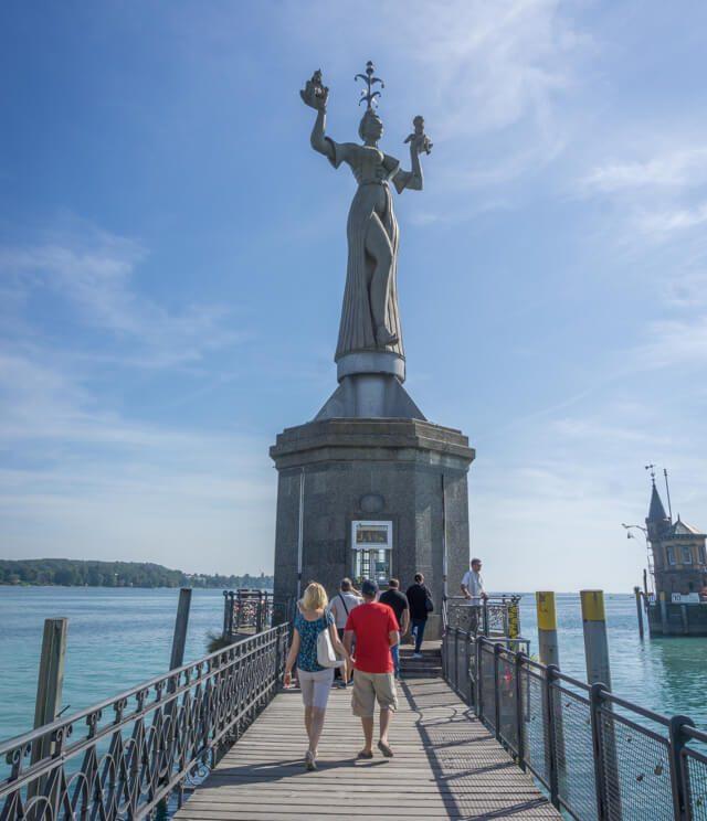 Bodensee Urlaub Konstanz Hafen Imperia