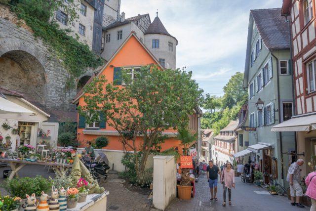 Bodensee Urlaub Meersburg Altstadt