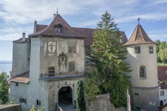Bodensee Urlaub Meersburg Burg