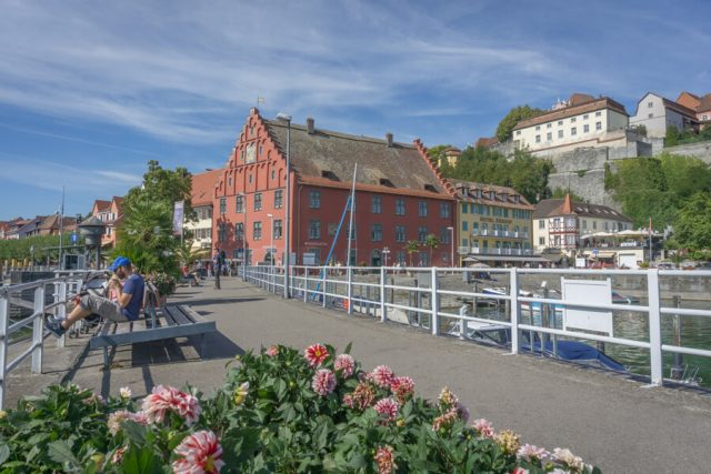 Bodensee Urlaub Meersburg Hafen