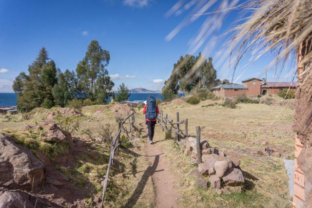 Peru Reisen Titicaca See