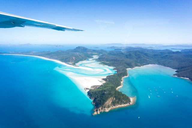 Whitehaven Beach Queensland Australien