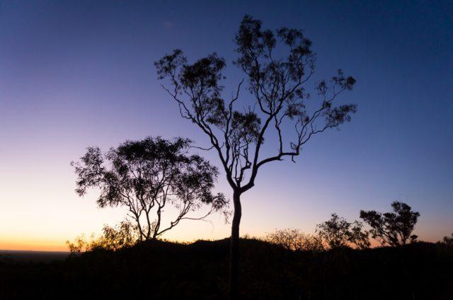 Atherton Tablelands Undara Experience Abendhimmel