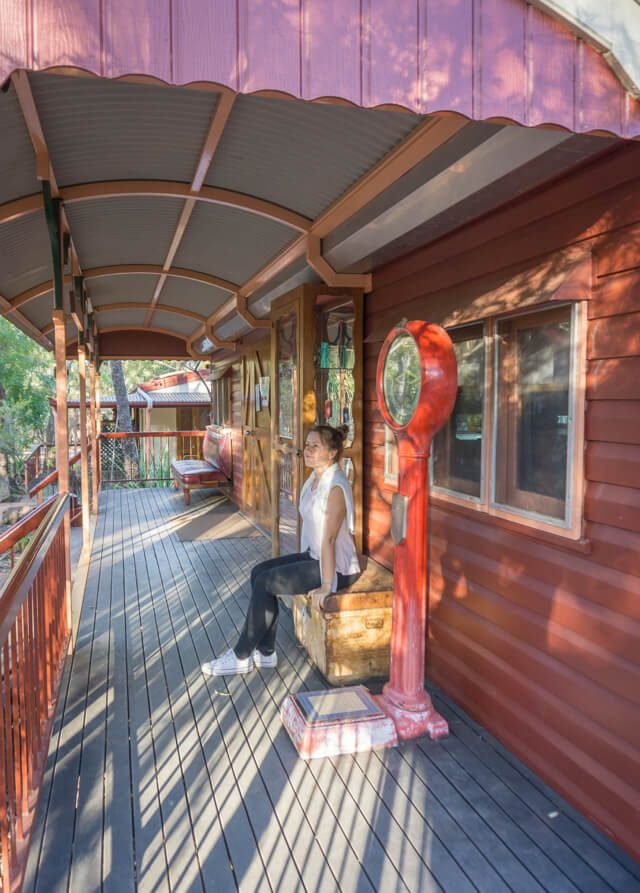 Atherton Tablelands Undara Experience Australien Outback Shed